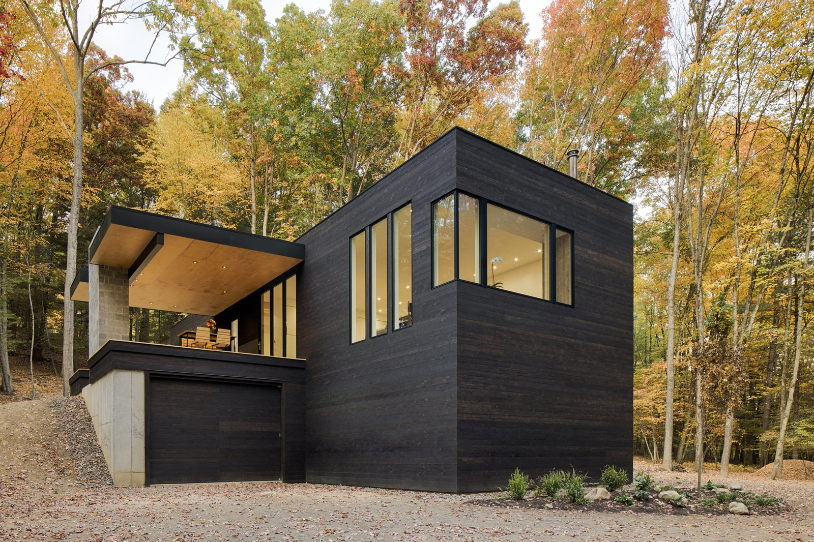 Tagged: Exterior, Wood Siding Material, and House.  TinkerBox by Marica McKeel
