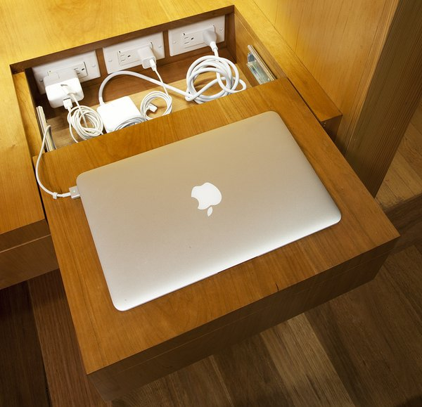 Concealed charging station for electronics  Photo 8 of California Contemporary Home modern home