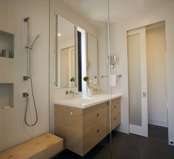 Master Bathroom with a walk-in shower Photo 8 of Beverley Master Bedroom Suite Addition modern home