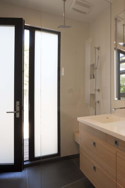 Walk out shower Photo 9 of Beverley Master Bedroom Suite Addition modern home