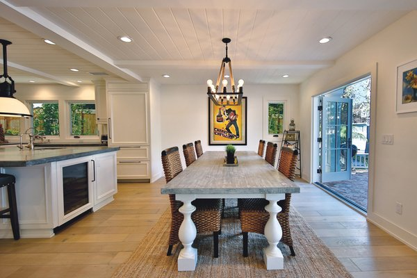 Clean simplified art deco inspired beach house. Photo 7 of Streamlined Cape Cod at The Wedge modern home