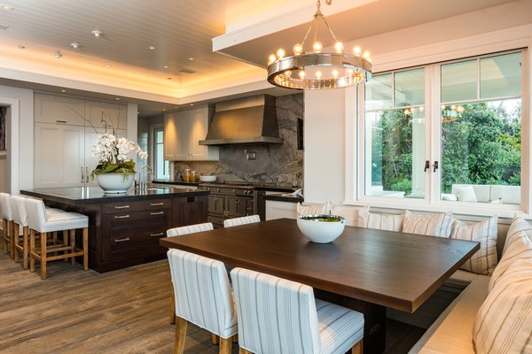 Kitchen and Dining Area Photo 4 of Luxury Cape Cod modern home