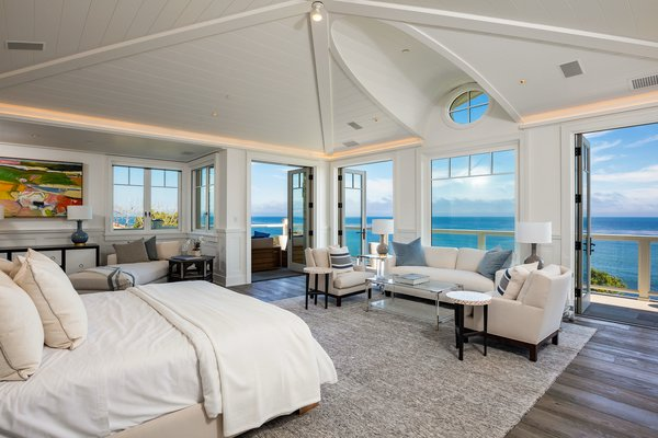 Master Bedroom with Ocean Views Photo 6 of Luxury Cape Cod modern home