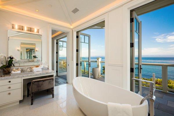 Bathroom with Ocean Views Photo 7 of Luxury Cape Cod modern home