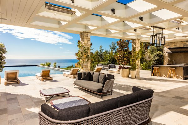 Outdoor Entertainment Patio and Sitting Area Photo 9 of Luxury Cape Cod modern home