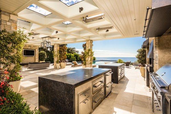 Outdoor Kitchen Photo 10 of Luxury Cape Cod modern home