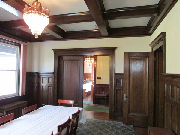 Dining room Photo 7 of T.S. Lackey House - The  future Dragonfly Bed & Breakfast modern home
