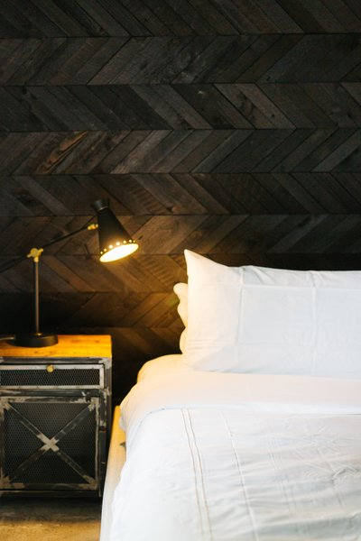Suite 3 - E&S Tile Feature Wall (Ember Series) Photo 4 of Vynale House modern home