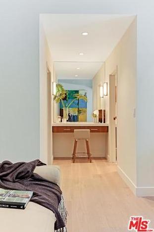 Vanity in the master  Photo 7 of Studio City MCM Sleeper modern home