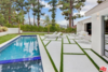 Newly relined pool, and original cement lined patio with Schultz Patio pieces  Photo 8 of Studio City MCM Sleeper modern home