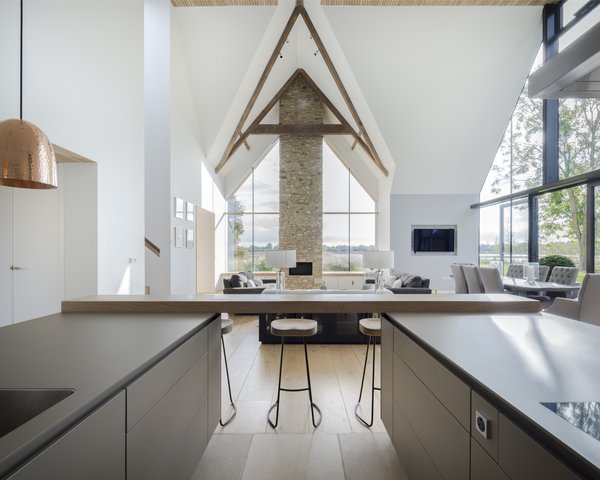 Architect: Waind Gohil + Potter Architects Photography: Anthony Coleman Photo 6 of The Old Barn Worton Farm modern home