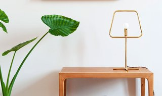Adolfo Abejón Slim Brass Lamp