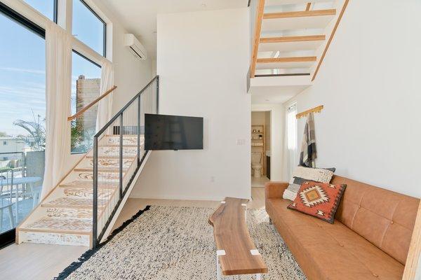 Living Room Photo 9 of Prefab Modern Coastal in San Diego modern home