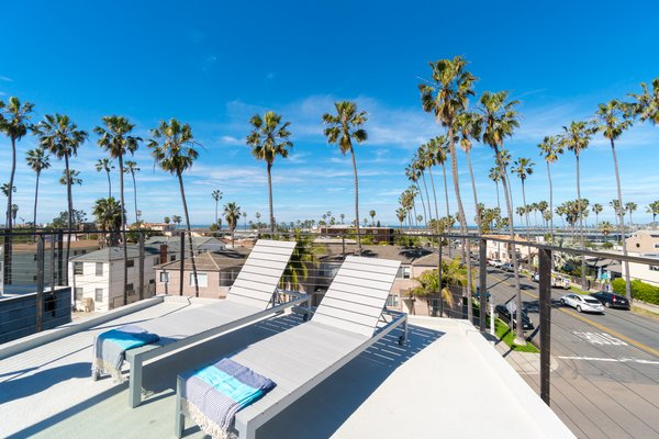 Rooftop Deck with Panoramic views of the water Photo 14 of Prefab Modern Coastal in San Diego modern home