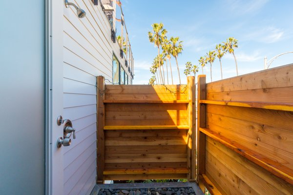 Exterior Master Shower Photo 11 of Prefab Modern Coastal in San Diego modern home