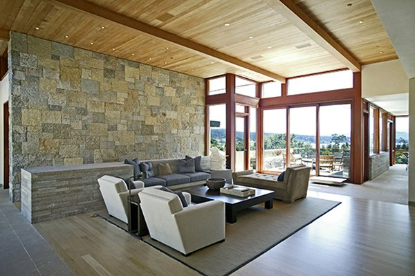 Pebble Beach House by Pfau Long Architecture