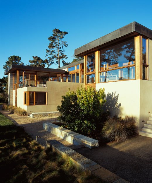 Pebble Beach House by Pfau Long Architecture