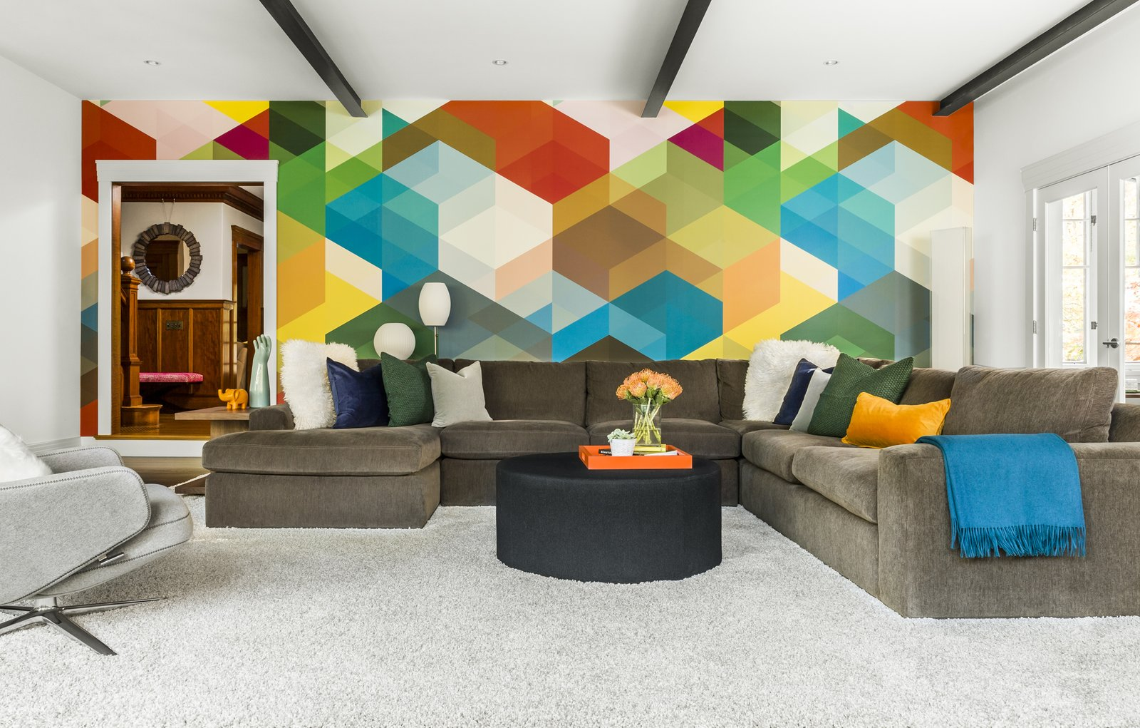 Willow Hill- Family Room Willow Hill by LDa  Architecture & Interiors