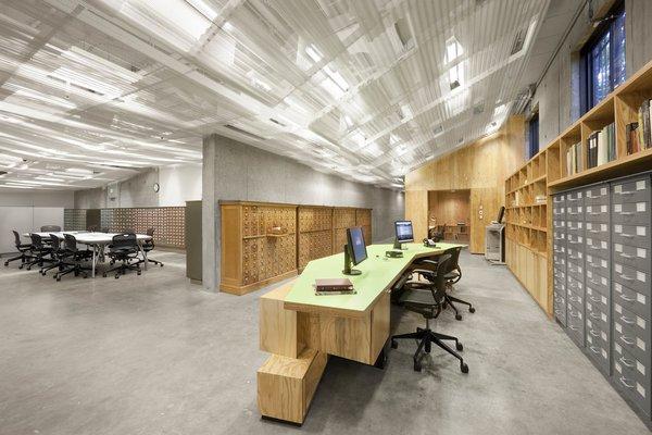 Photo  of Harvard Media Slide Library modern home
