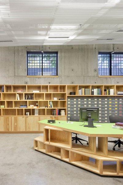 Photo 4 of Harvard Media Slide Library modern home
