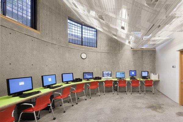 Photo 6 of Harvard Media Slide Library modern home