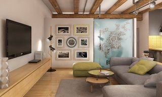 Industrial Style Heaven in this Boston Loft - Photo 2 of 7 - Competition: Boston Loft Interior, Massachusetts