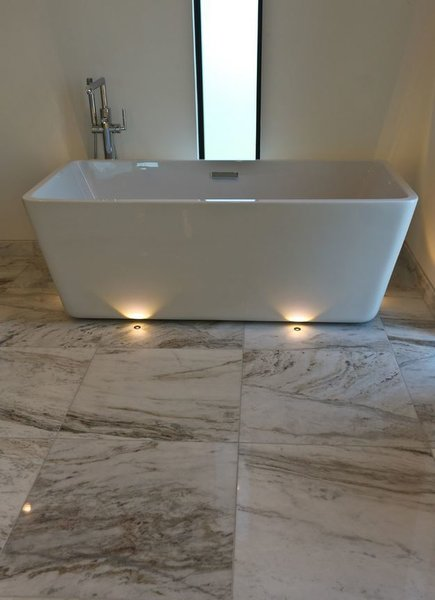 Master Bath Soaking Tub Photo 10 of Zimmerman Place modern home