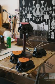 A Joyful Noise in the Dark: A Peek Inside Ted Riederer's Studio - Photo 2 of 4 -