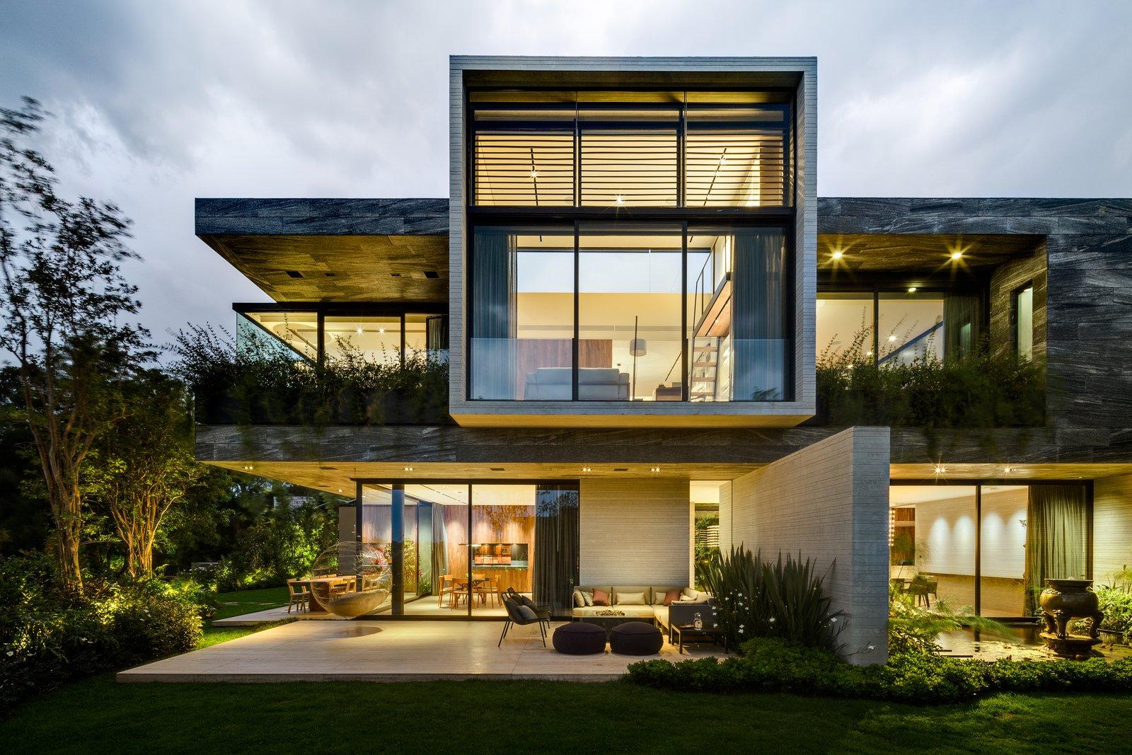 Tagged: Exterior, House, and Concrete Siding Material.  Casa O Cuatro by Migdal Arquitectos