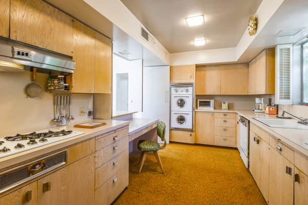 Modern home with kitchen. Kitchen Photo 8 of Mid Century Modern Time Capsule in Palm Springs
