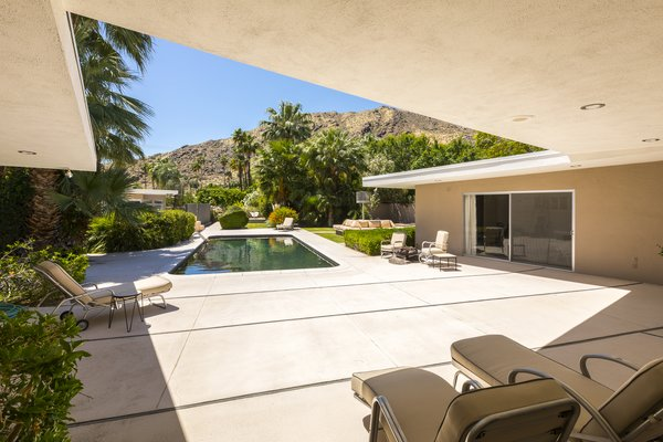 Pool Area Photo 14 of Mid Century Modern Time Capsule in Palm Springs modern home