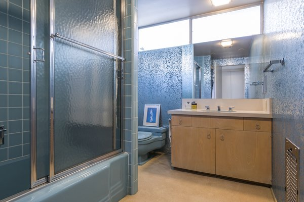 Guest Bath Photo 12 of Mid Century Modern Time Capsule in Palm Springs modern home