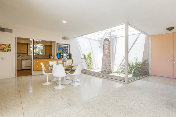 Dining area Photo 11 of Mid Century Modern Time Capsule in Palm Springs modern home