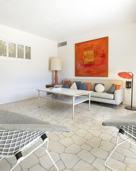 Den/Bedroom Photo 3 of Mid Century Modern Time Capsule in Palm Springs modern home