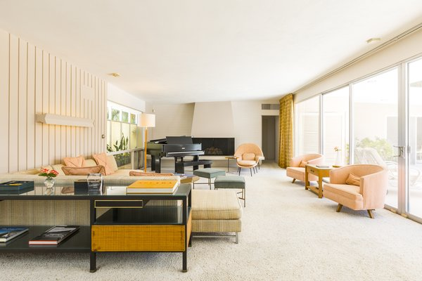 Modern home with living room. Living Room Photo 6 of Mid Century Modern Time Capsule in Palm Springs