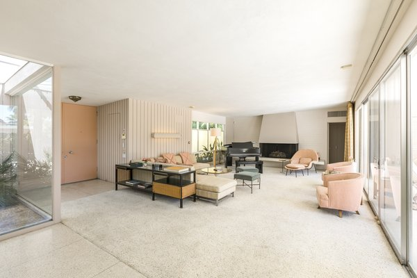 Modern home with living room. Living Room Photo 7 of Mid Century Modern Time Capsule in Palm Springs