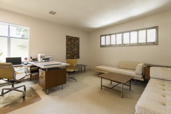 Office/Bedroom Photo 4 of Mid Century Modern Time Capsule in Palm Springs modern home