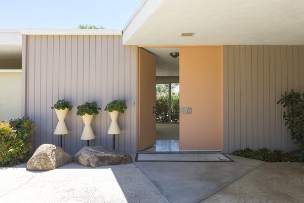 Entrance Photo 9 of Mid Century Modern Time Capsule in Palm Springs modern home