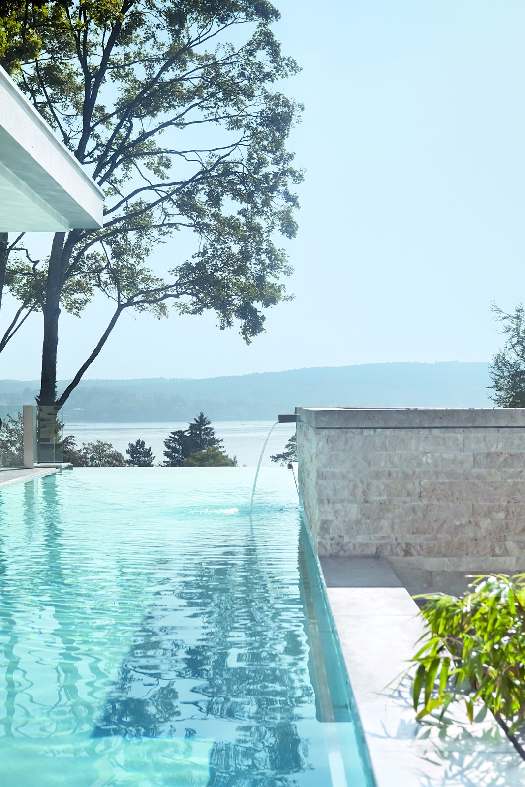 Tagged: Outdoor, Infinity Pools, Tubs, Shower, Swimming Pools, Tubs, Shower, and Large Pools, Tubs, Shower.  House S by Stephan Maria Lang