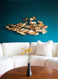 These 5 Interior Design Trends Will Reign Supreme in 2018 - Photo 1 of 10 - Blue is associated with calmness and dependability. Harking back to memories of the sky or the ocean,  the color is said to promote relaxation. This bold punch of teal combines the best of blue and green.