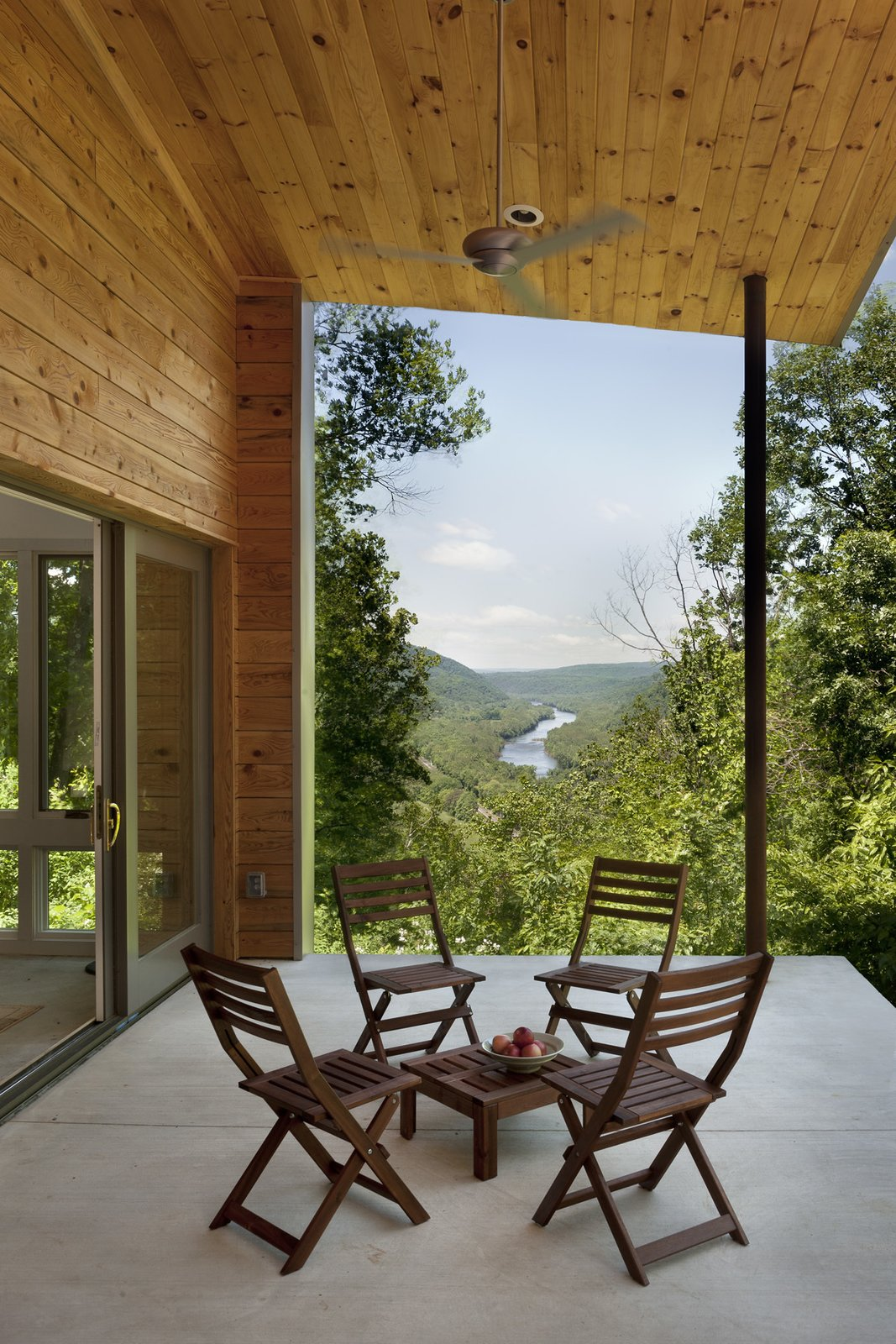 view from the porch to the Potomac River  Ridge House by GriD