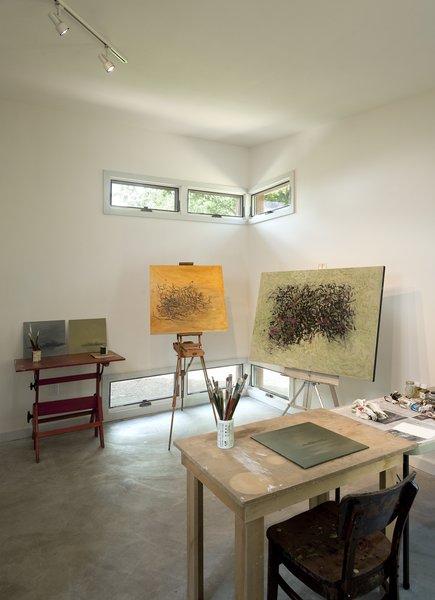 painting studio Photo 7 of Ridge House modern home