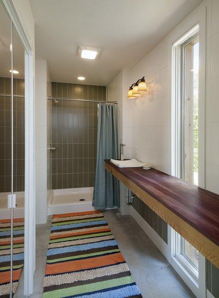 view of master bathroom Photo 17 of Ridge House modern home