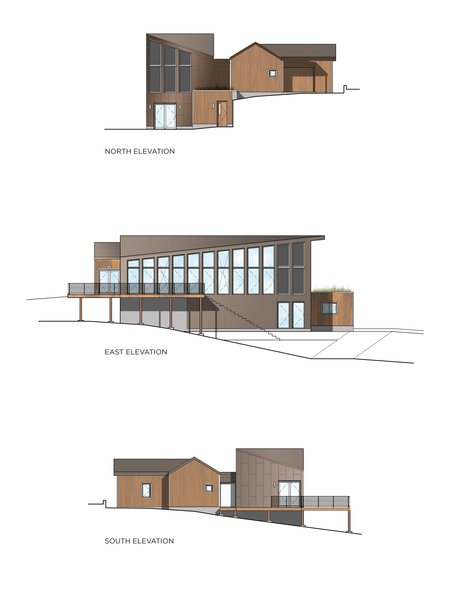 Elevations Photo 4 of River House modern home