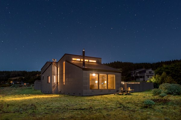 Looking back from the ocean bluff Photo 3 of Abalone Bay modern home