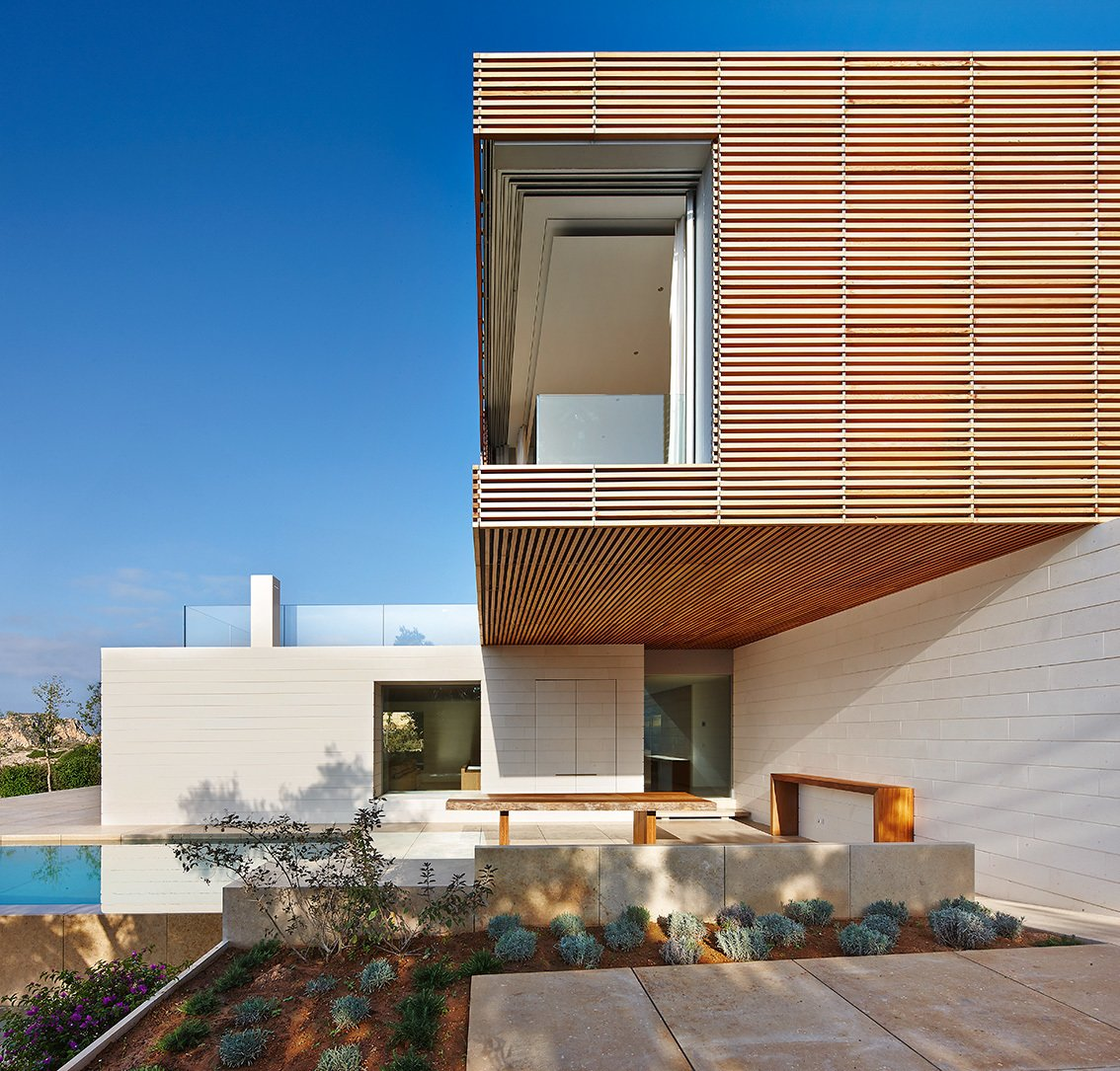 Casa Lama in Mallorca, Spain Tagged: Outdoor, Infinity Pools, Tubs, Shower, Concrete Patio, Porch, Deck, Tile Patio, Porch, Deck, Hardscapes, and Back Yard.  Photo 10 of 11 in Dwell's Top 10 Design Pros of 2017 from Homes I like