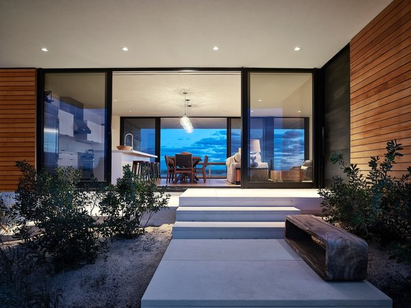 Main Entrance Photo 2 of House On The Point modern home