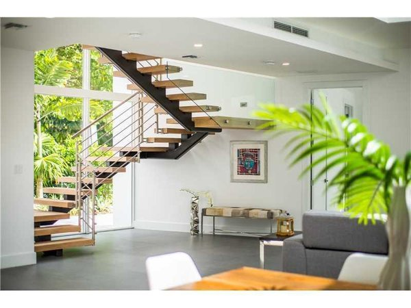 View to the stairway from the living space Photo 10 of Tigertail II modern home