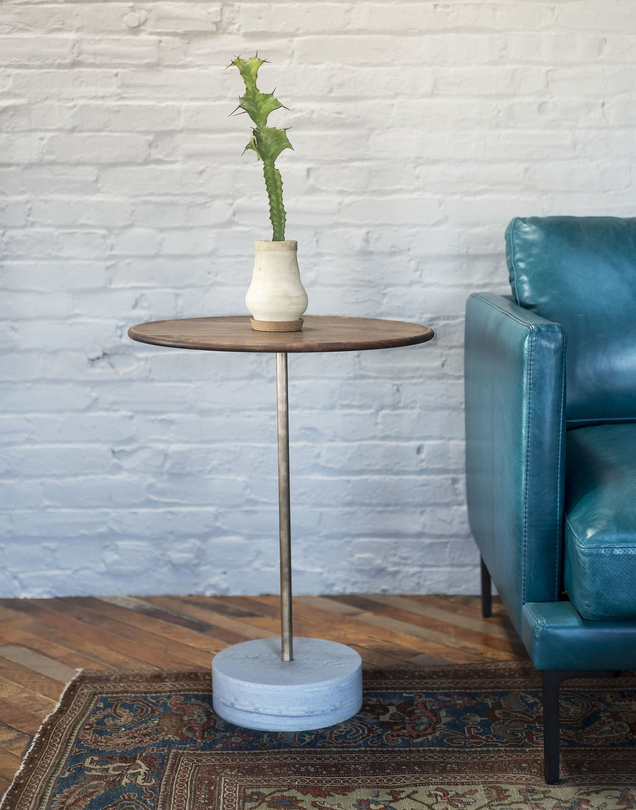 Tagged: Living Room, End Tables, Sofa, and Medium Hardwood Floor.  Mulherin's Hotel by Daniel Olsovsky