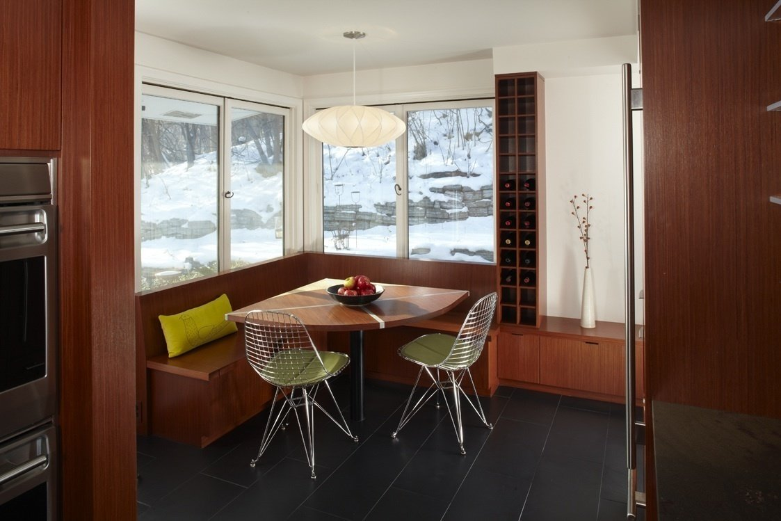 Mid Century Make-Over by J.Sweitzer Architects-LLC